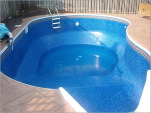 Vinyl pools photos landscape designs for High quality above ground pools